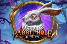 Rabbit Hole Riches on Play'n GO:n uusi kolikkopeli, joka vie sinut Ihmemaahan