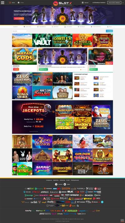 SlotV Casino Screenshot