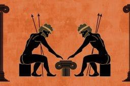 Uhkapelaaminen antiikin Kreikassa ja Roomassa