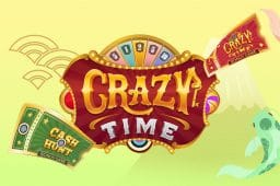 エボリューション・ゲーミング社最新ゲーム「Crazy Time」の限定キャンペーンで賞金をGET!