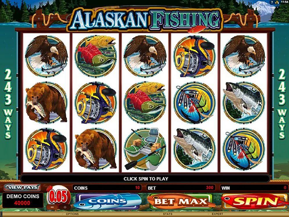 Alaskan Fishing Slot Images - CasinoTop