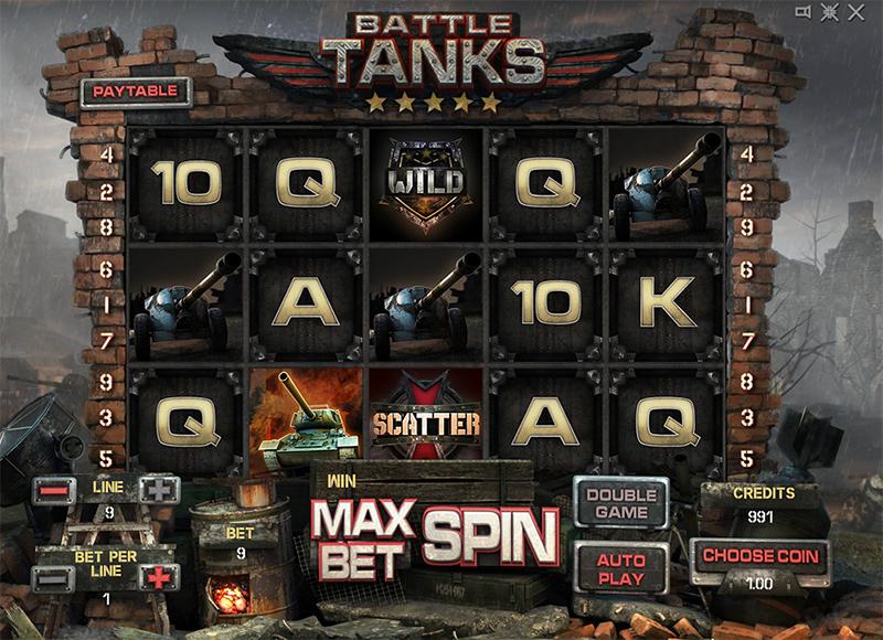 Battle Tanks Slot Images - CasinoTop
