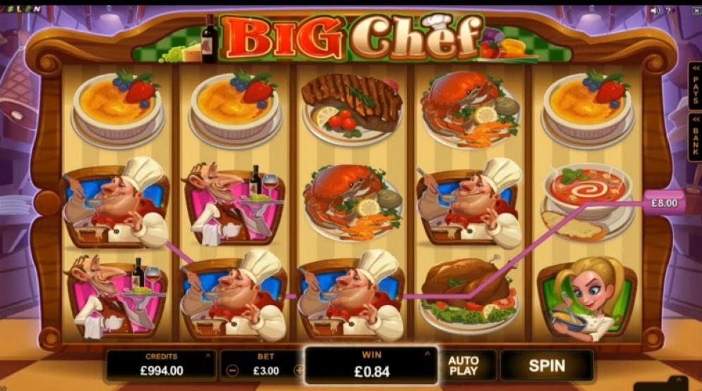 Big Chef Slot - CasinoTop