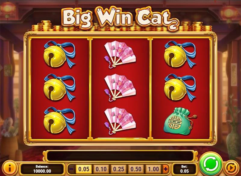 Big Win Cat Slot Images - CasinoTop