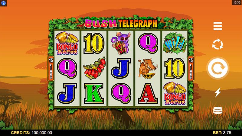 Bush Telegraph Slot Screenshot - CasinoTop