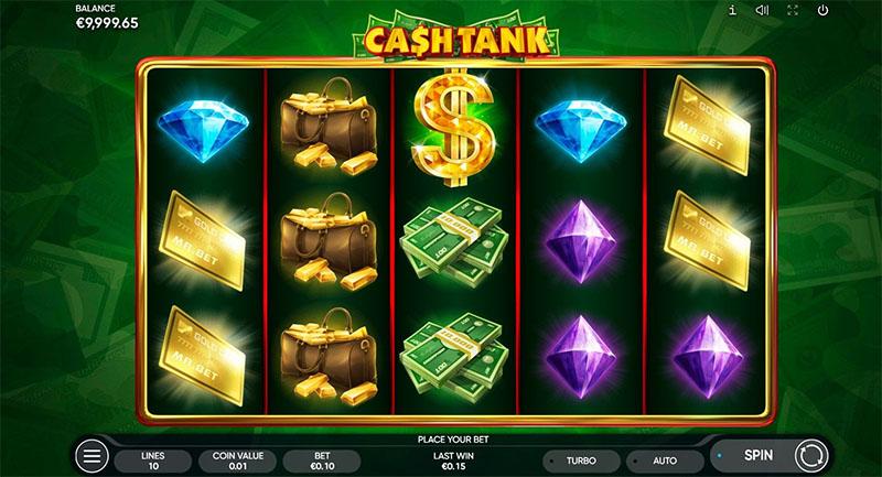 Cash Tank Slot Screenshot - CasinoTop