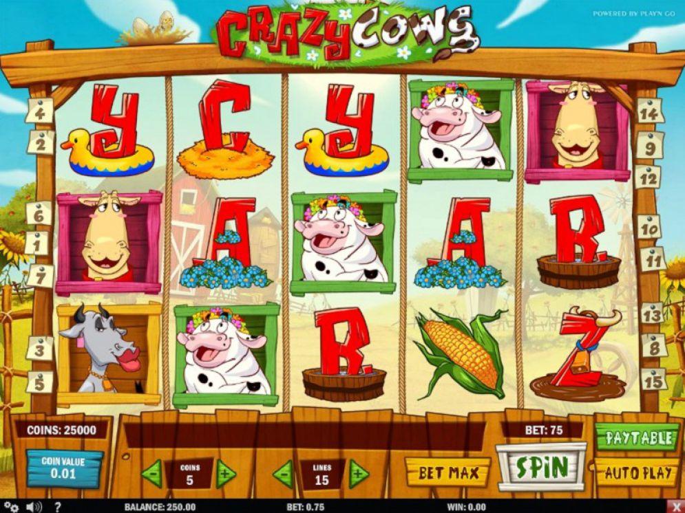 Crazy Cows - CasinoTop