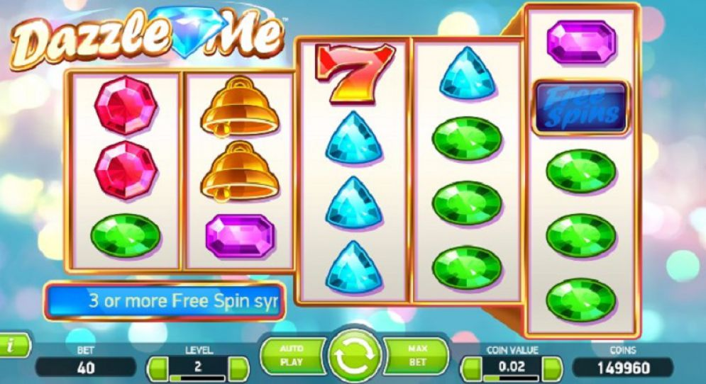 Dazzle Me Slot Images - CasinoTop