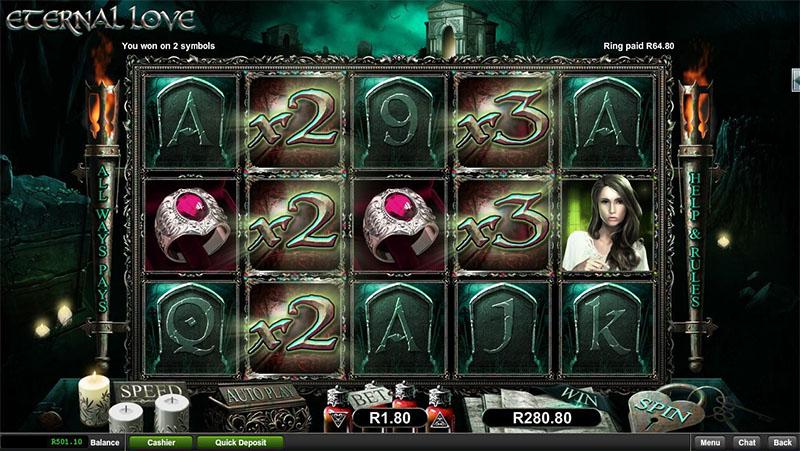 Eternal Love Slot Screenshot - CasinoTop