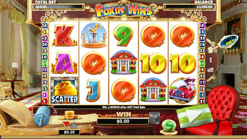 Foxin' Wins Slot Images - CasinoTop