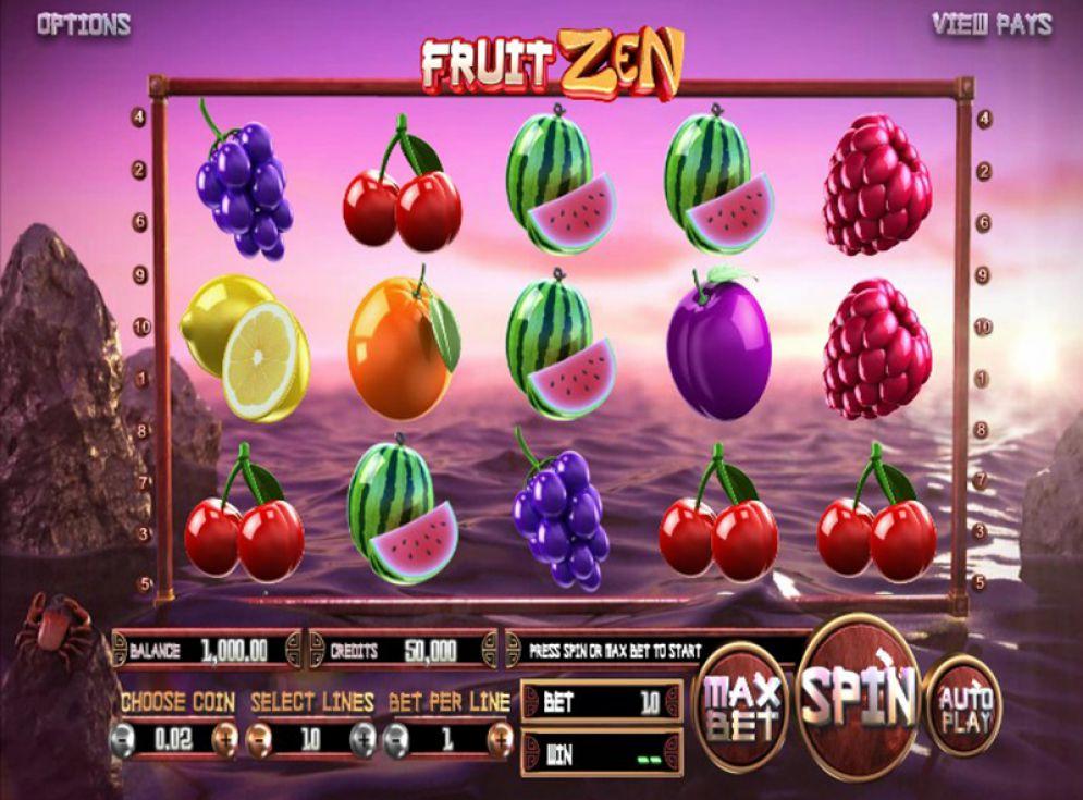Fruit Zen Slot Images - CasinoTop