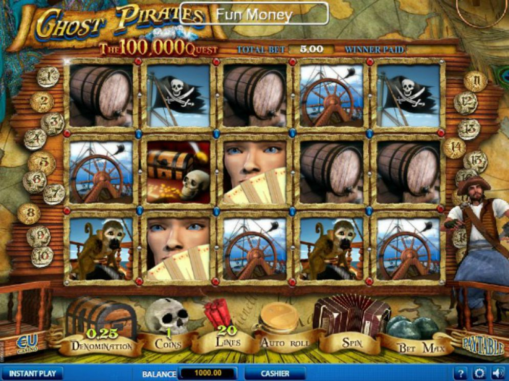 Ghost Pirates Slot Images - CasinoTop