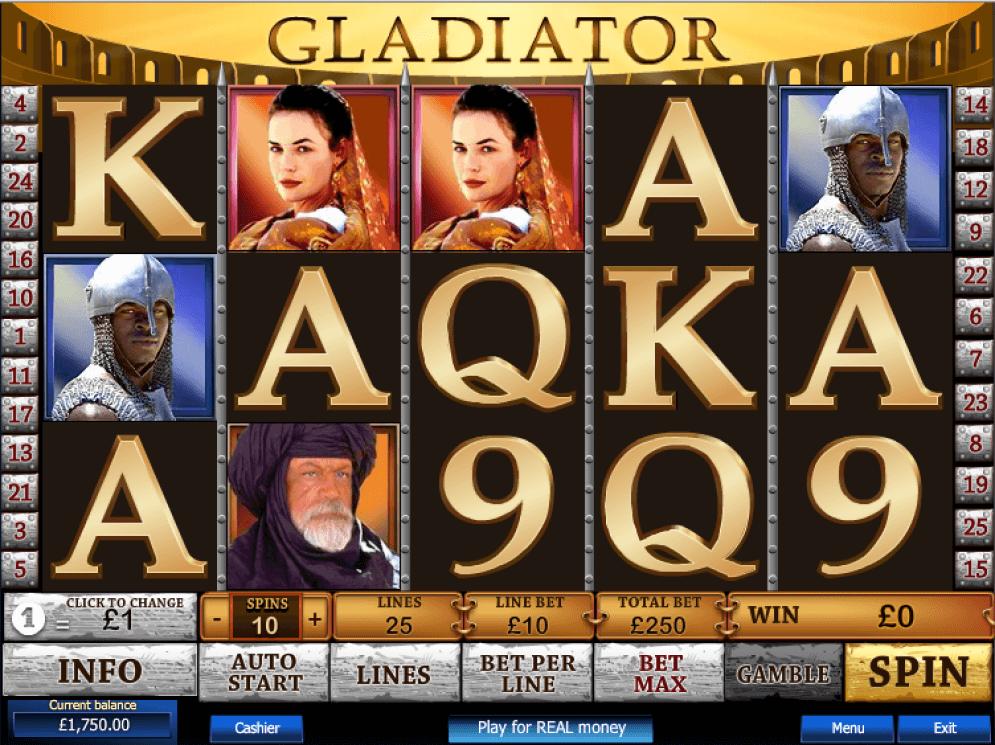 Gladiator Slot Screenshot - CasinoTop