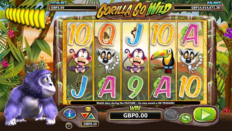Gorilla Go Wild Slot Images - CasinoTop