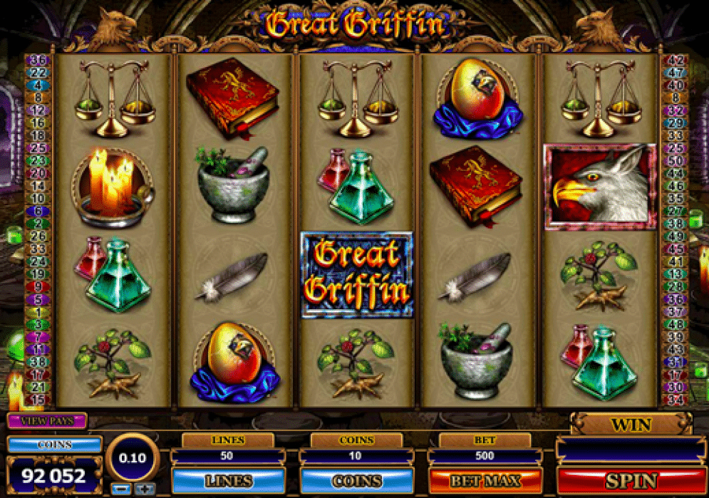 Great Griffin Slot Images - CasinoTop