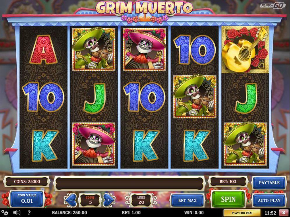 Grim Muerto - CasinoTop
