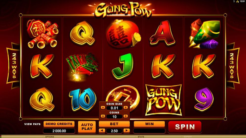 Gung Pow Slot Images - CasinoTop