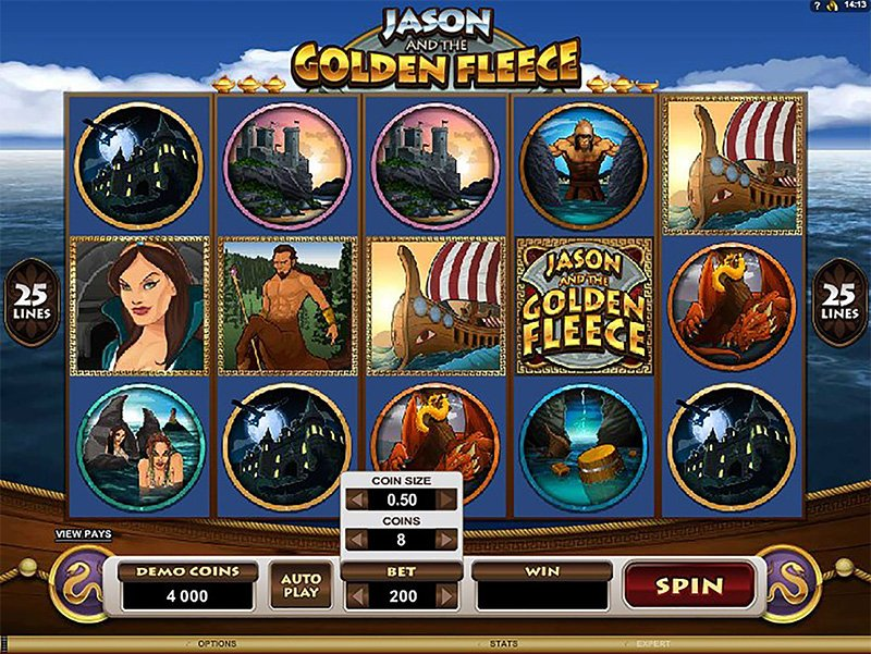 Jason and the Golden Fleece Slot Images - Casinotop