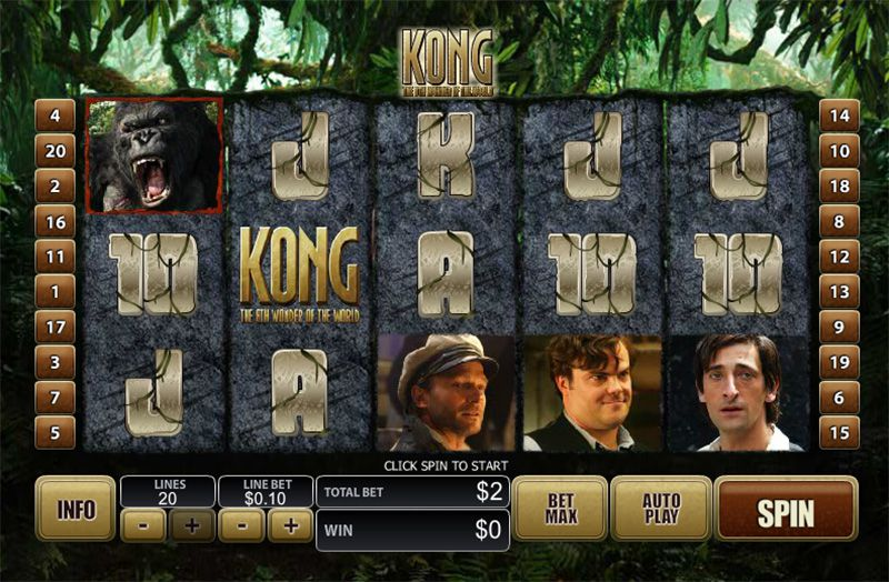 King Kong Slot Screenshot - CasinoTop