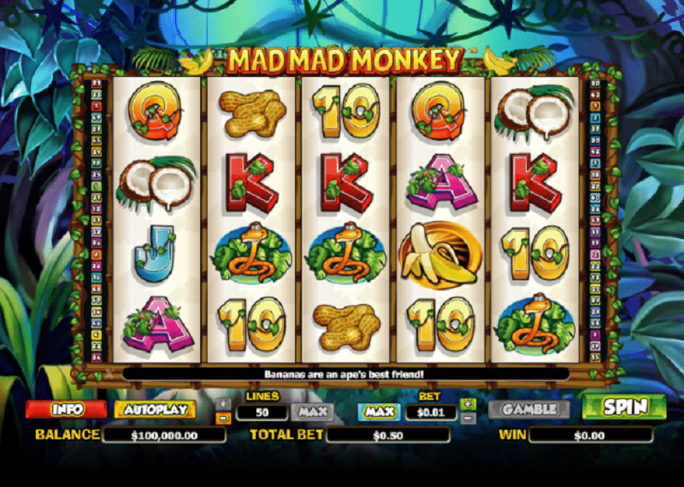Mad Mad Monkey Slot Images - CasinoTop