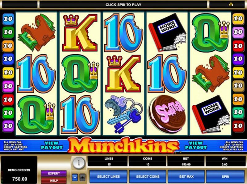 Munchkins Slot Screenshot - CasinoTop