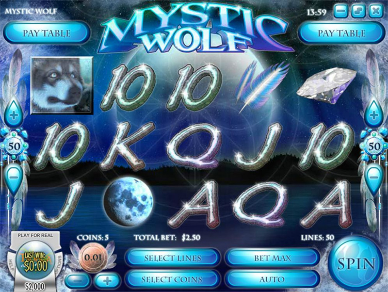 Mystic Wolf Slot Images - CasinoTop