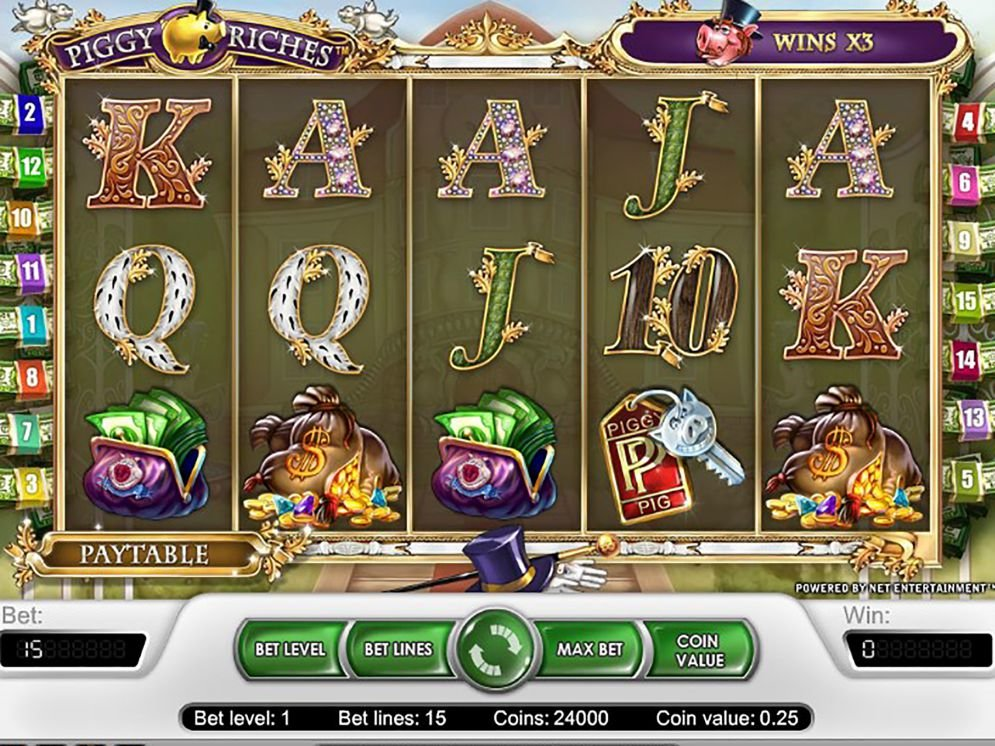 Piggy Riches Slot Images - CasinoTop