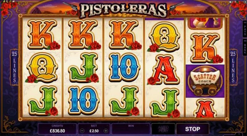 Pistoleras Slot Images - CasinoTop
