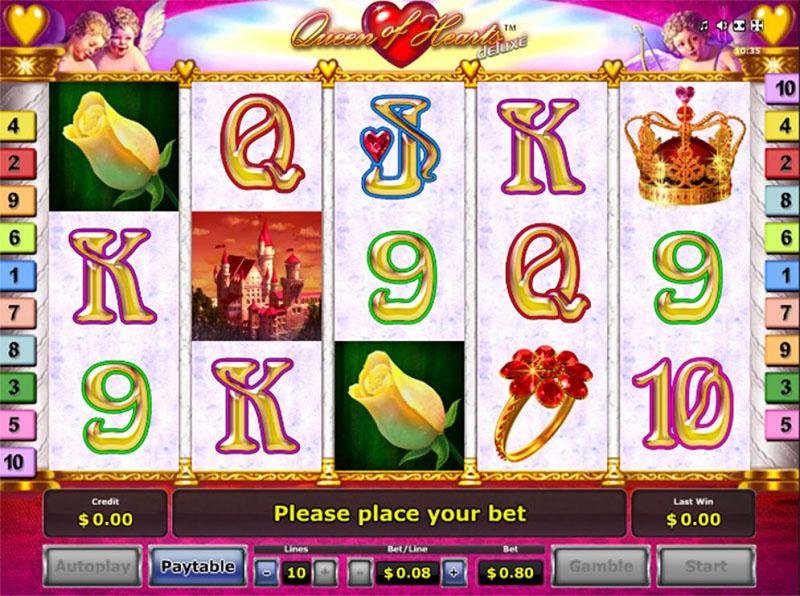 Queen of Hearts Deluxe Slot inner - CasinoTop
