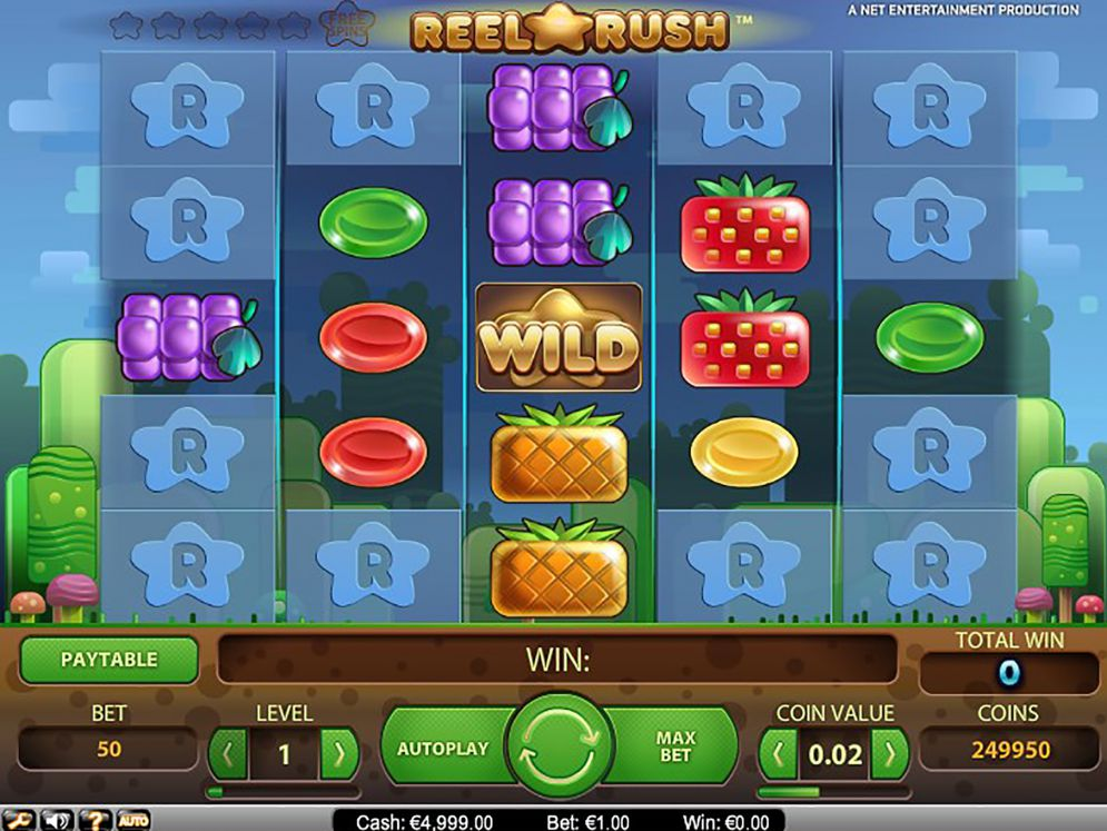 Reel Rush Slot Images - CasinoTop