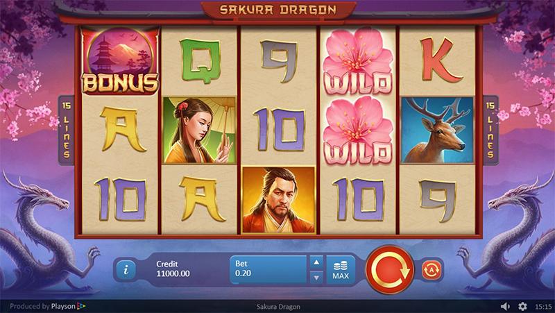 Sakura Dragon Slot Images - CasinoTop
