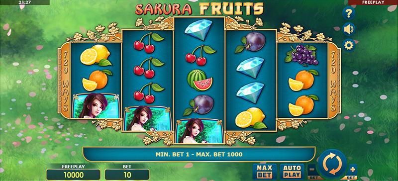 Sakura Fruits Slot Images - CasinoTop