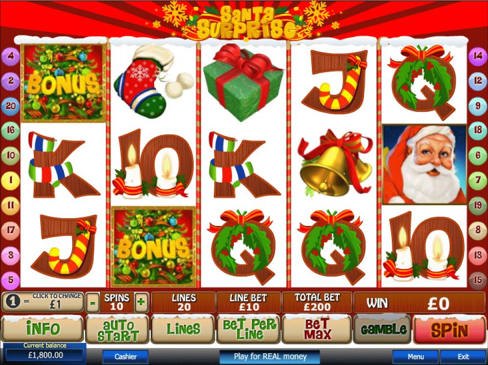 Santa Surprise Slot Images - CasinoTop