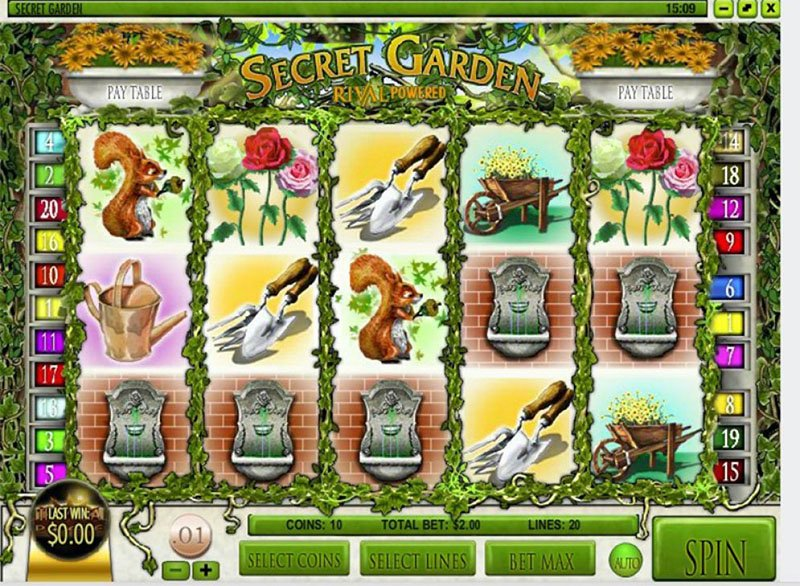 Secret Garden Slot inner - CasinoTop