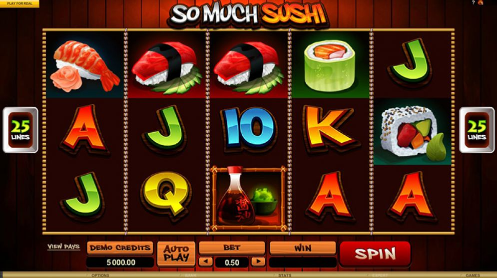 So Much Sushi Slot Images - CasinoTop