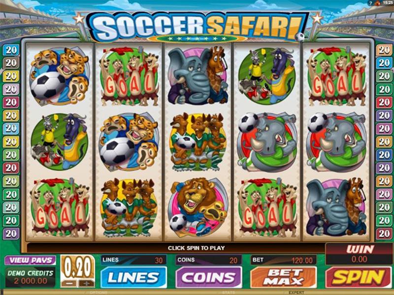 Soccer Safari Slot Images - Casinotop