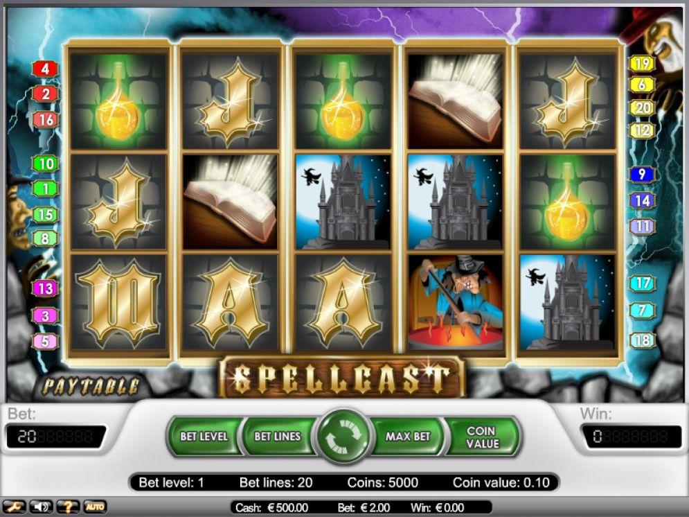 Spellcast slot - CasinoTop