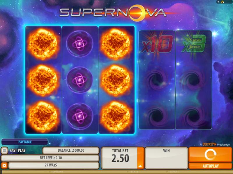 Supernova Slot Images - Casinotop