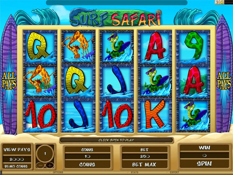 Surf Safari Slot Images - Casinotop