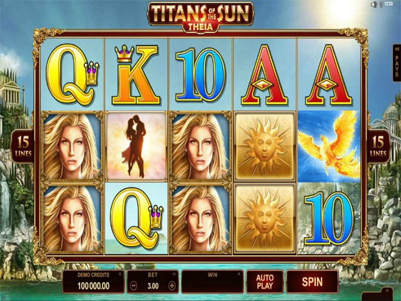 Titans of the Sun Theia Slot Images - CasinoTop