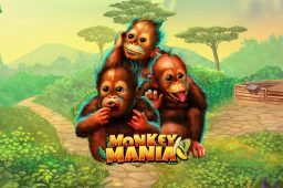 【6月1日まで】新作スロット「Monkey Mania」 で遊んでフリースピンをゲットしよう!
