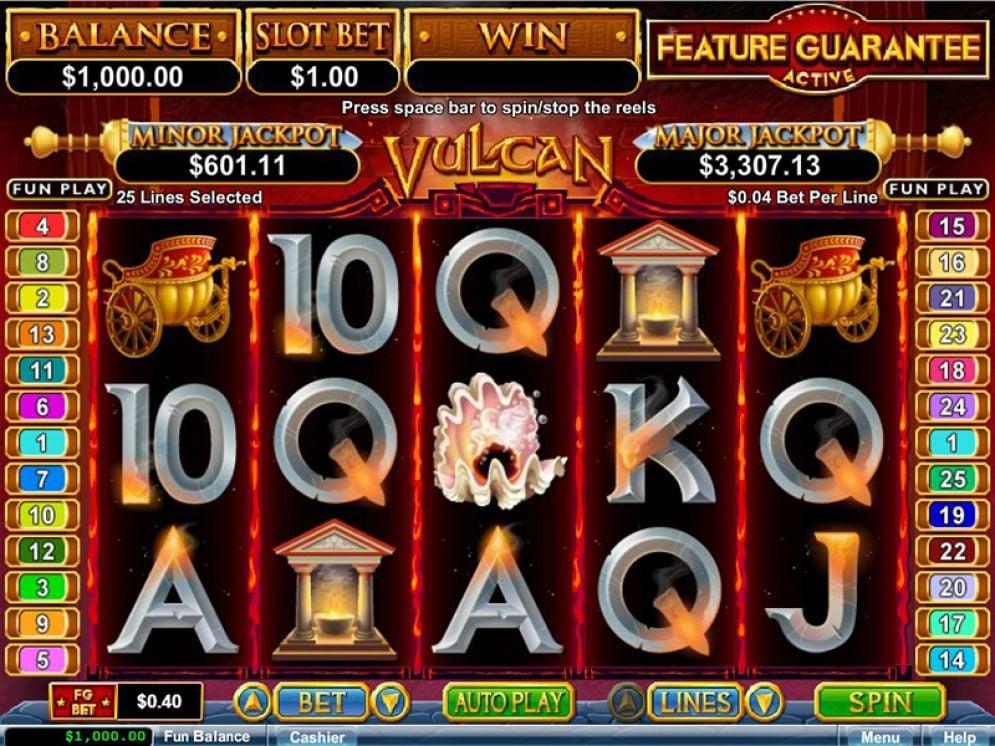 Vulcan Slot Images - CasinoTop