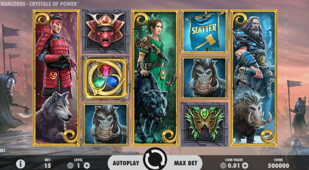 Warlords Crystals of Power Slot - CasinoTop