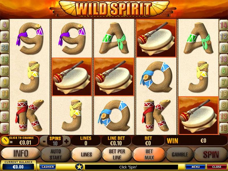 Wild Spirit Slot Screenshot - CasinoTop