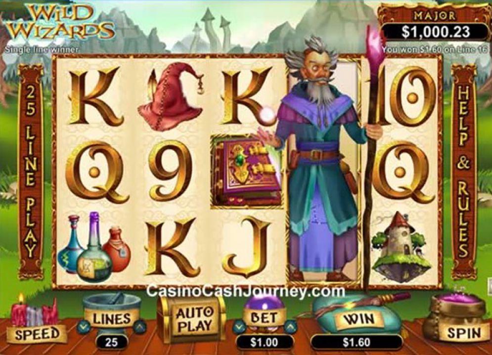 Wild Wizards - CasinoTop
