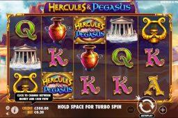 Hercules and Pegasus Slot Image