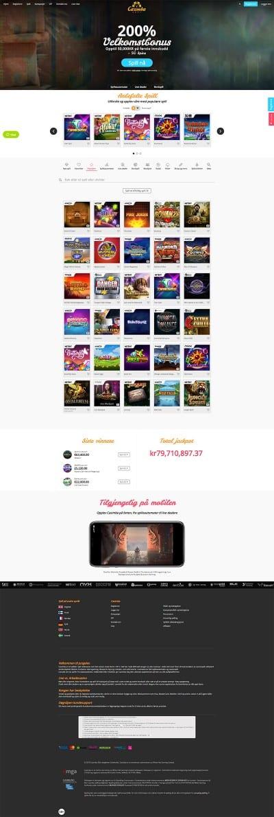 Casimba Casino Screenshot