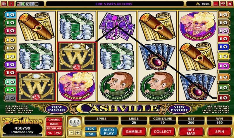 Cashville Casinotopp