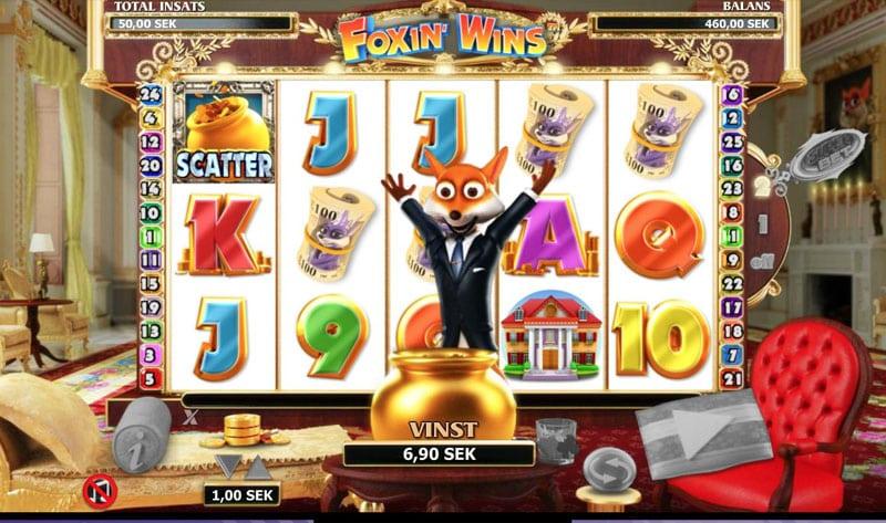 Foxin' Wins Logo