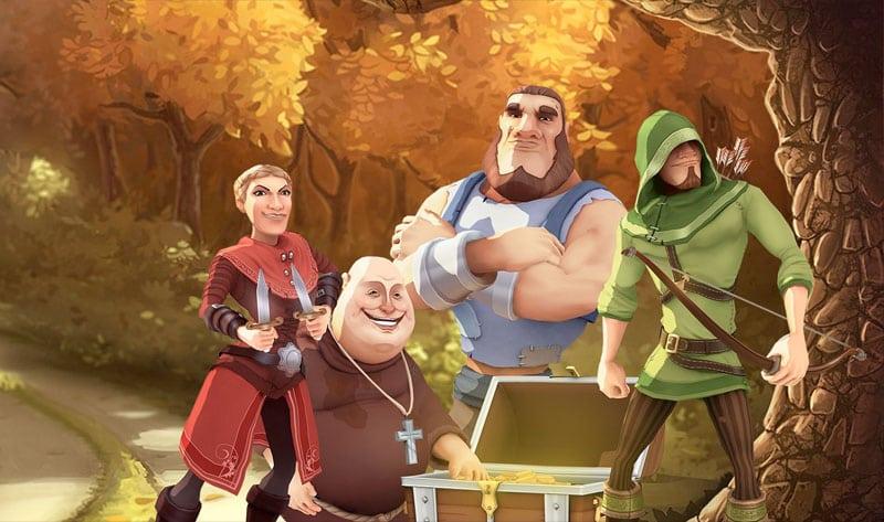Robin Hood – Shifting Riches Logo